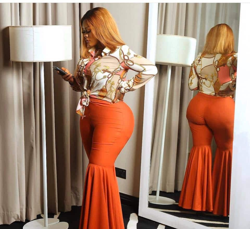 curvy celebrities in Nollywood - Daniella Okeke